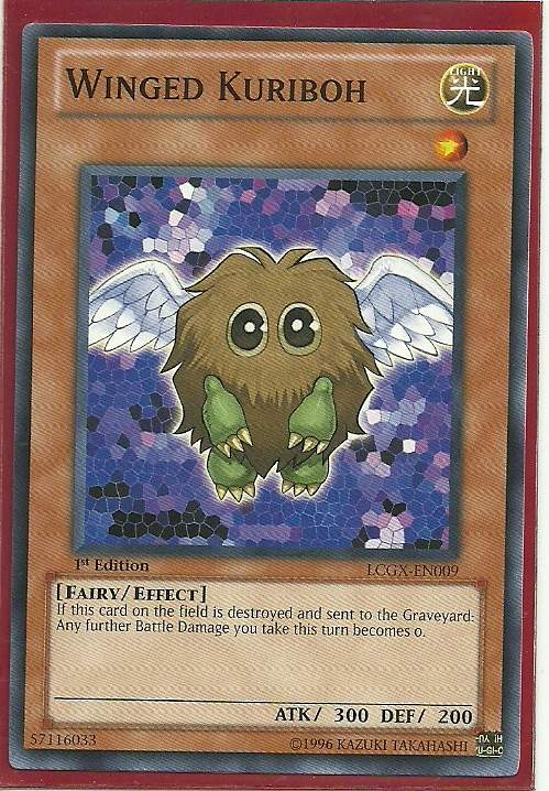 LCGX-EN010 Wing... Winged Kuriboh Lv10