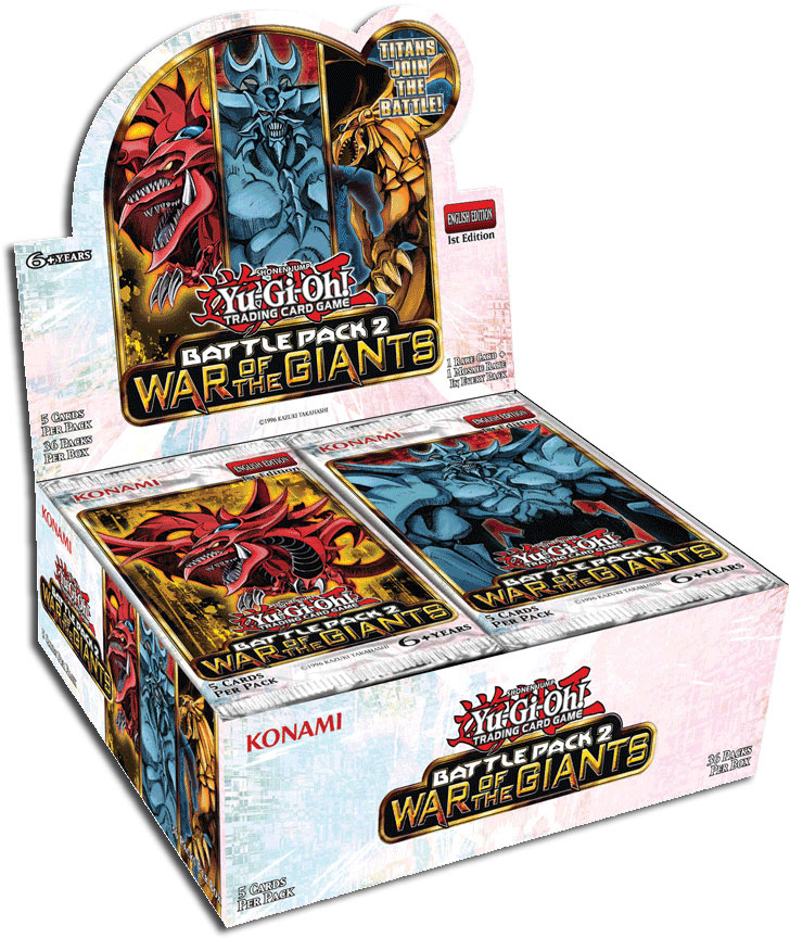 Anunciado Battle Pack 2: War of the Giants Box